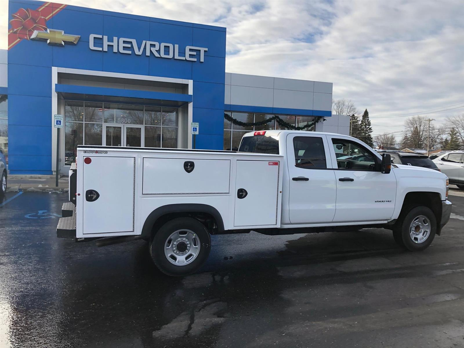 2019 Chevrolet Silverado 2500 Double Cab 4x2, Reading Classic II Aluminum  Service Body #87969 - photo 2