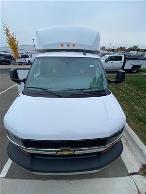 2020 Chevrolet Express 3500 4x2, Knapheide KUV Service Utility Van #88940 - photo 16
