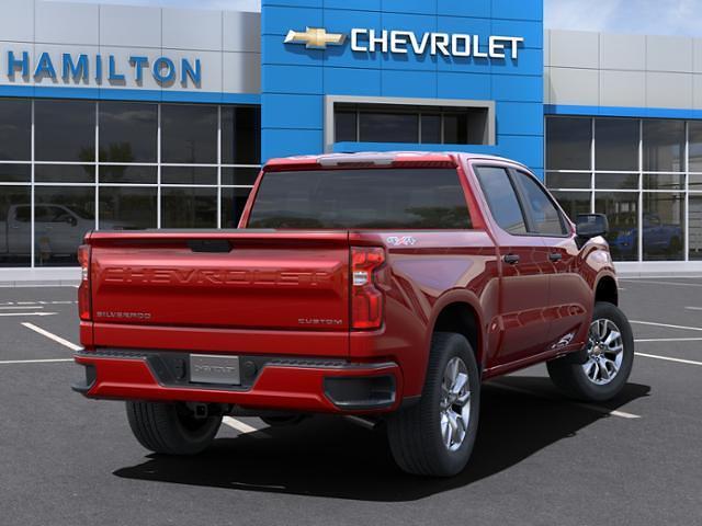 2021 Chevrolet Silverado 1500 Crew Cab 4x4, Pickup #A0244 - photo 2