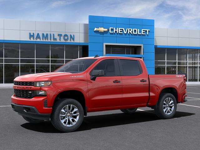 2021 Chevrolet Silverado 1500 Crew Cab 4x4, Pickup #A0245 - photo 3