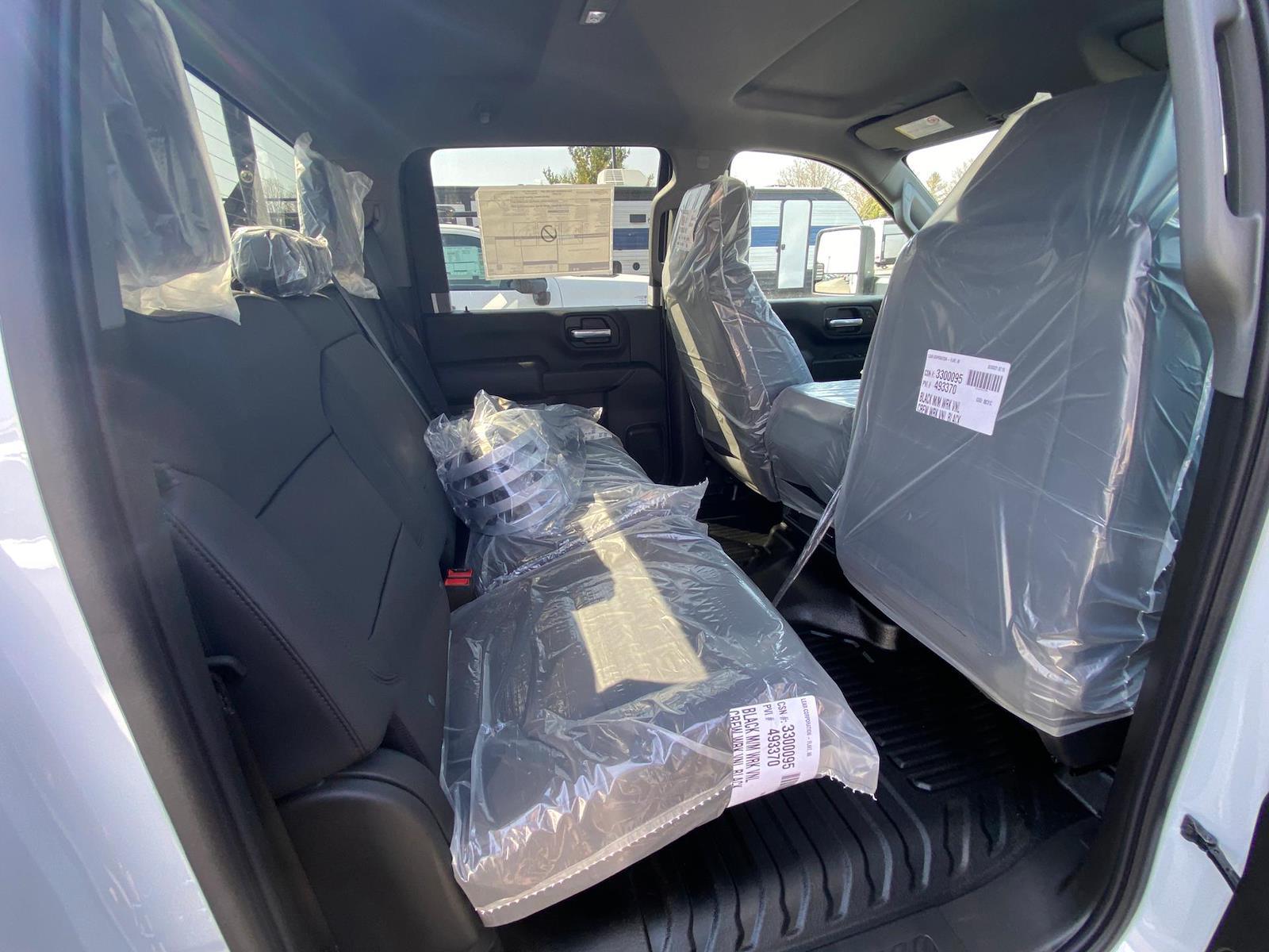 2021 Chevrolet Silverado 3500 Crew Cab 4x4, Reading Classic II Steel Service Body #A0320 - photo 10