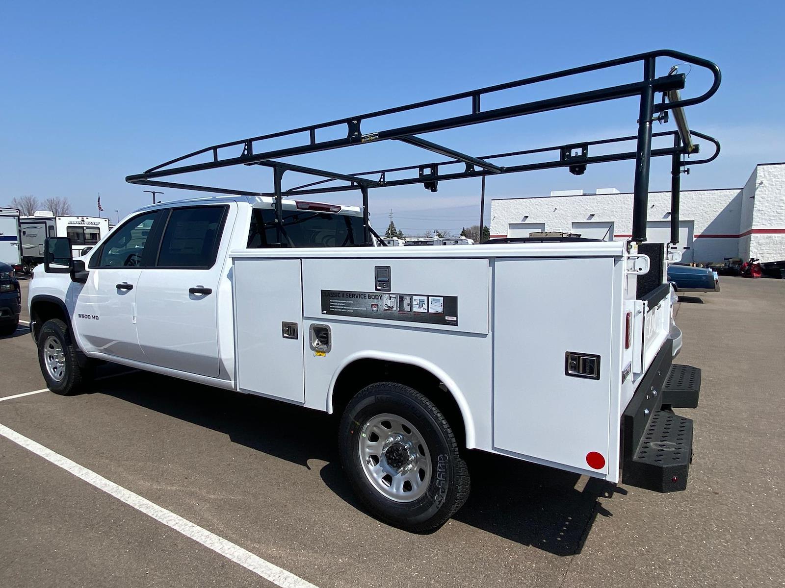 2021 Chevrolet Silverado 3500 Crew Cab 4x4, Reading Classic II Steel Service Body #A0320 - photo 2