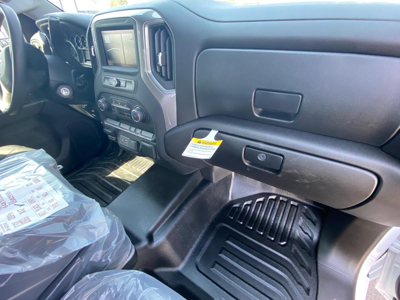 2021 Chevrolet Silverado 3500 Crew Cab 4x4, Reading Classic II Steel Service Body #A0320 - photo 9