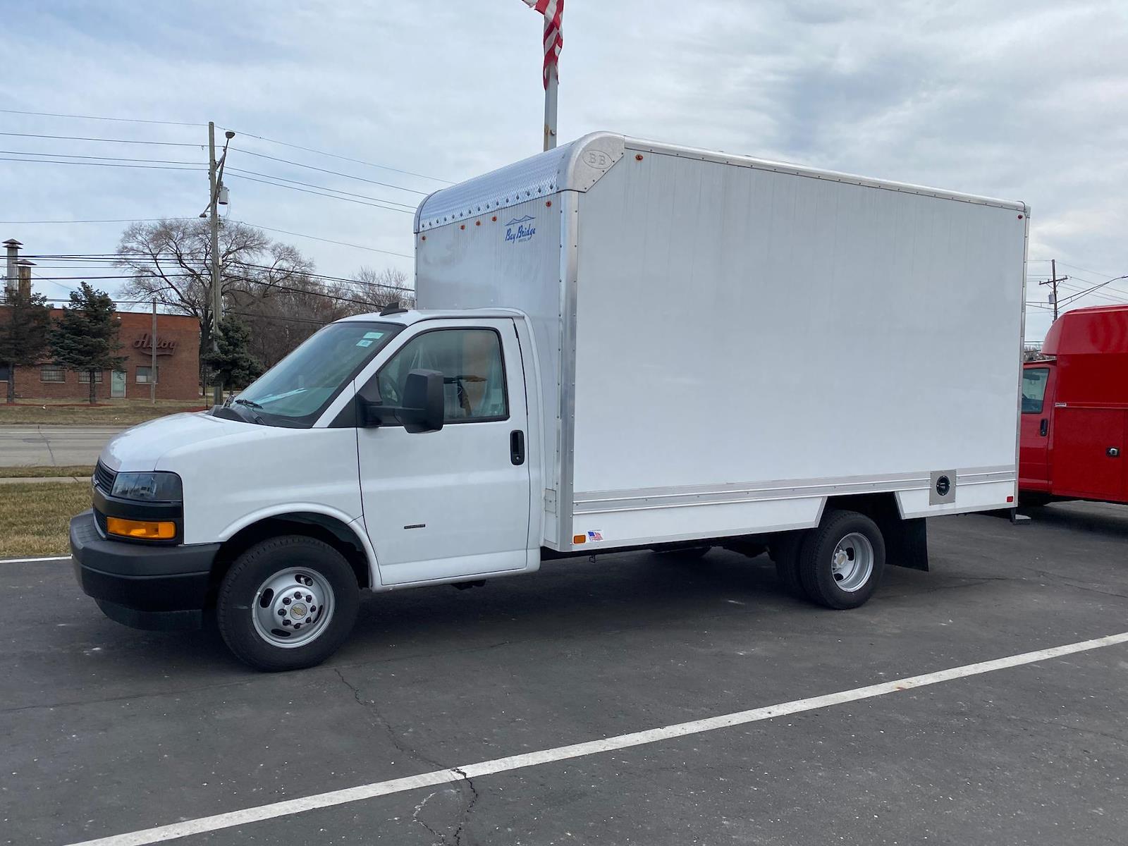 2020 Chevrolet Express 3500 4x2, Cutaway Van #A0369 - photo 1