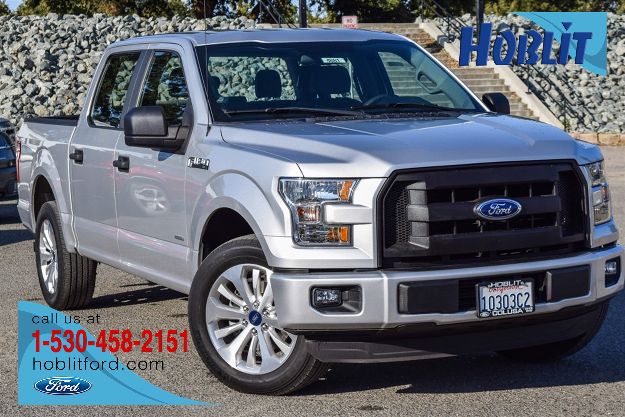 2016 F-150 SuperCrew Cab 4x2, Pickup #4881 - photo 1