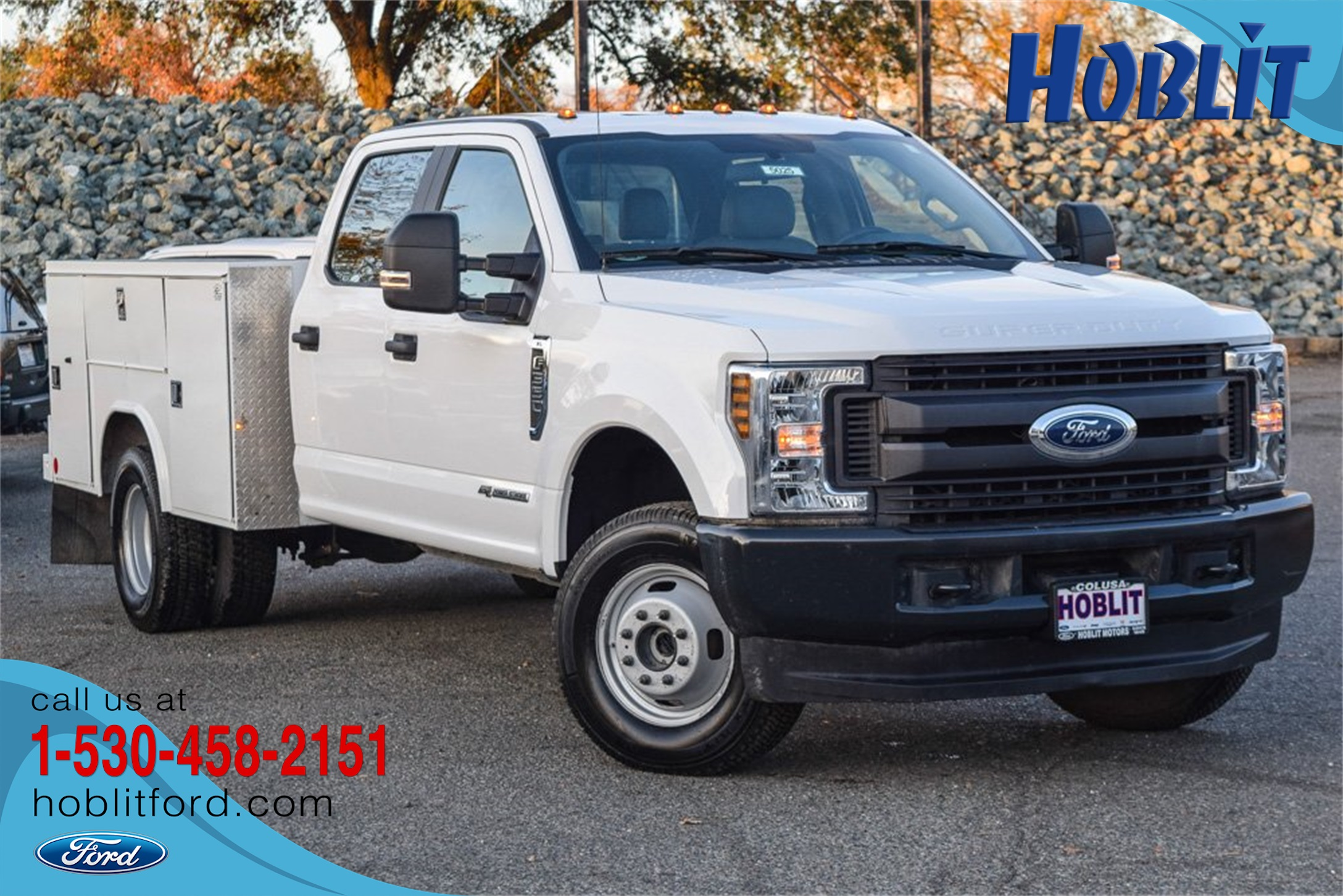 2019 Ford F-350 Crew Cab DRW 4x4, Reading Service Body #5025 - photo 1
