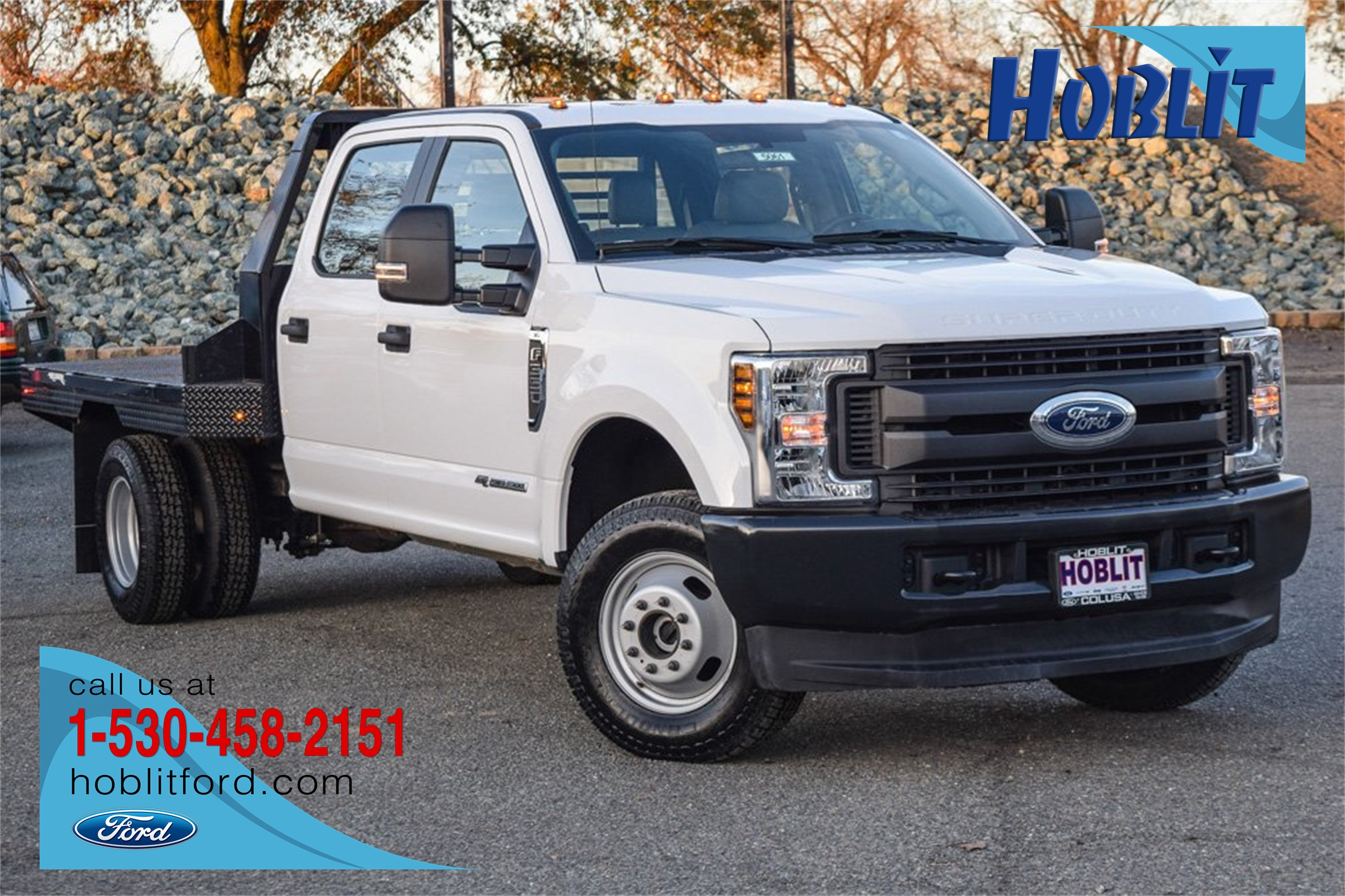 2019 Ford F-350 Crew Cab DRW 4x4, Hillsboro Platform Body #5061 - photo 1