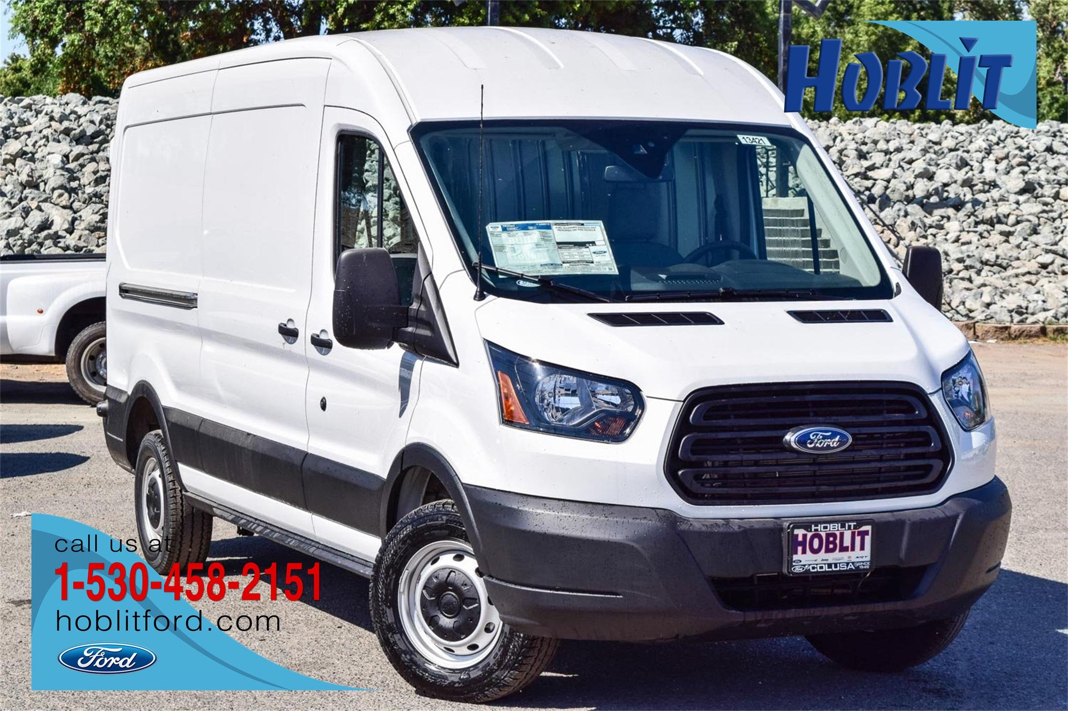 2019 Transit 150 Med Roof 4x2, Empty Cargo Van #F13421 - photo 1