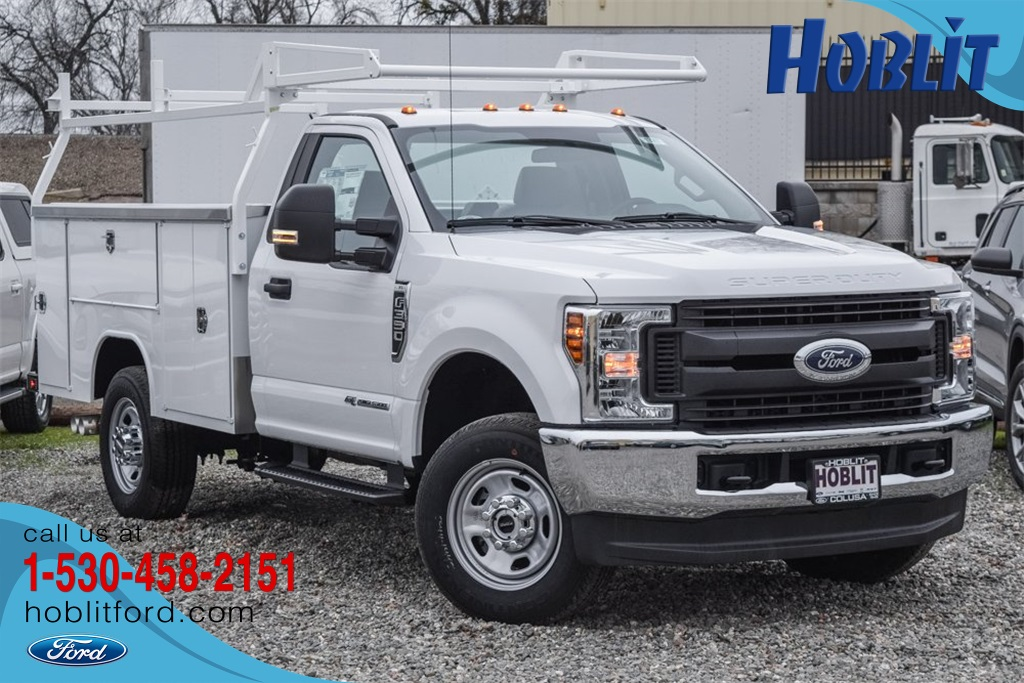 2019 F-350 Regular Cab 4x4, Service Body #F13907 - photo 1