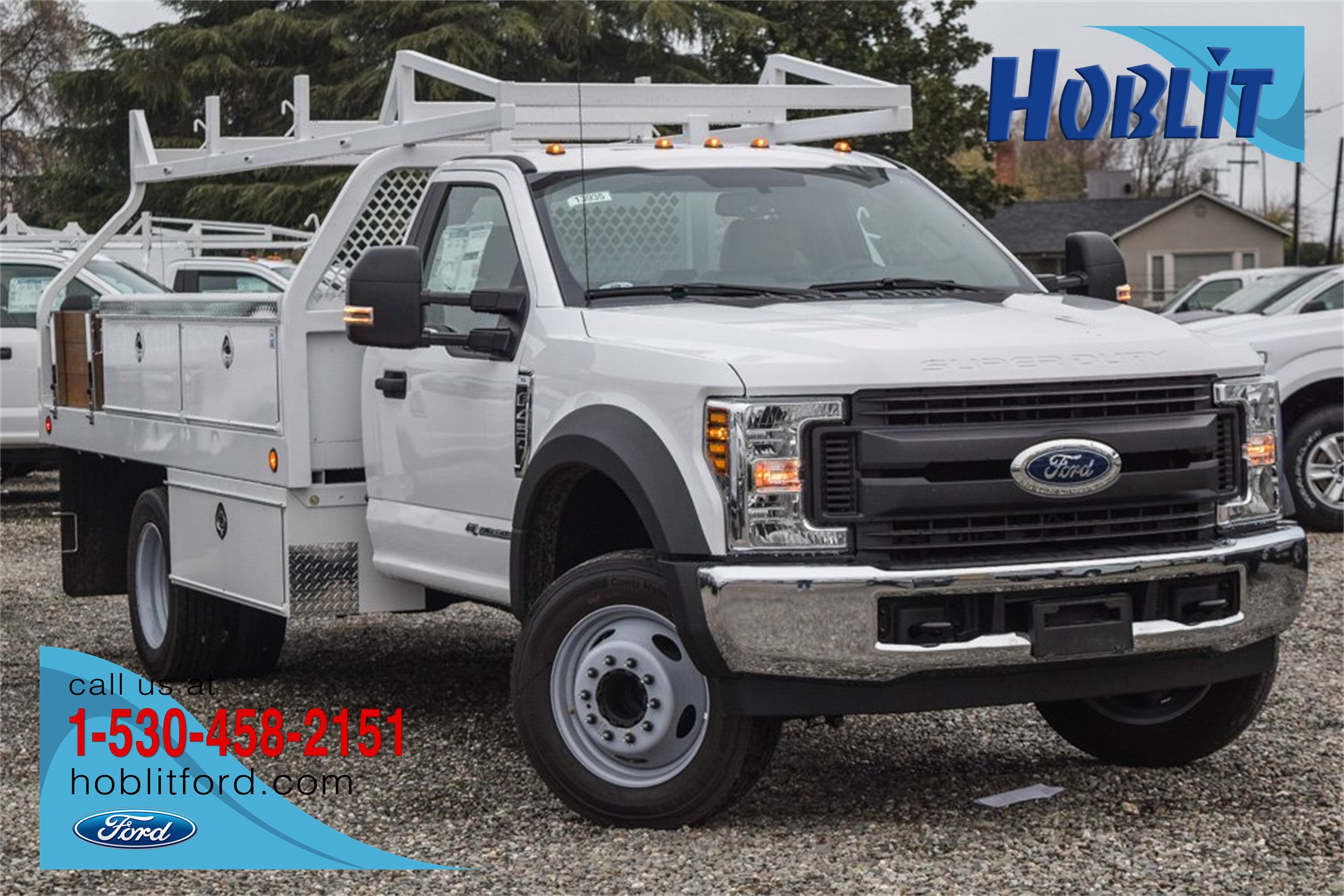 2019 Ford F-450 Regular Cab DRW 4x2, Royal Contractor Body #F13935 - photo 1