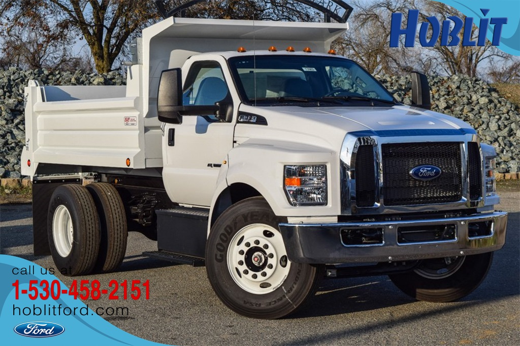 2019 Ford F-650 Regular Cab DRW 4x2, Scelzi Dump Body #F13985 - photo 1