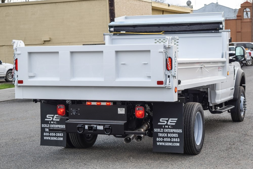 2019 Ford F-550 Regular Cab DRW 4x2, Scelzi Dump Body #F14007 - photo 1