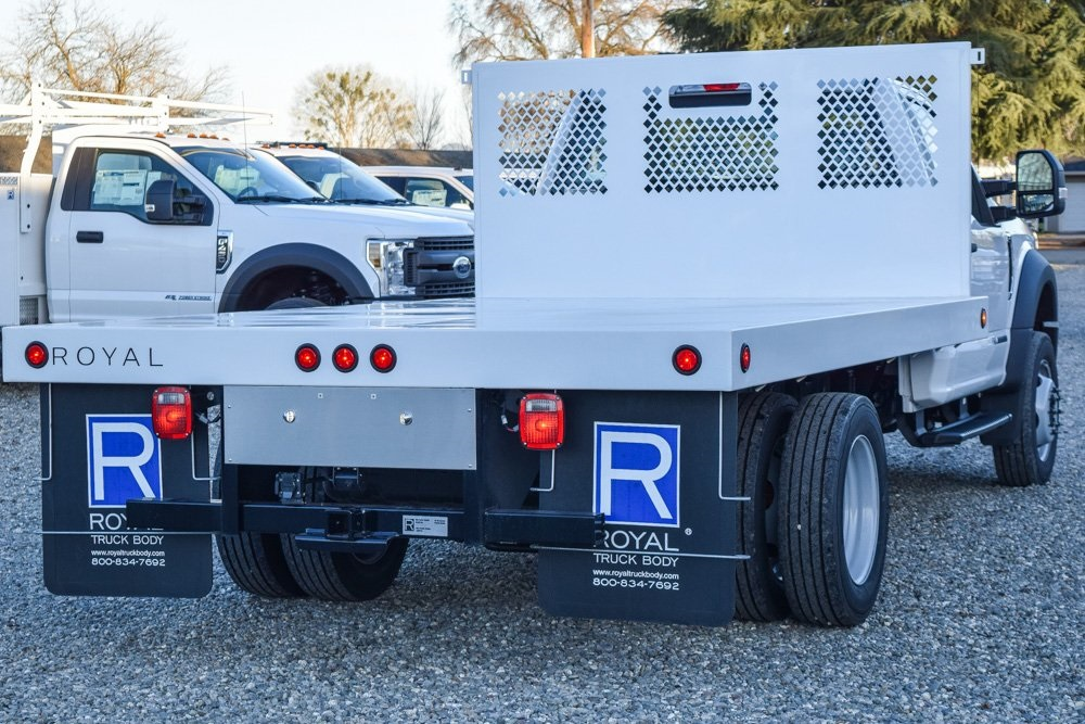 2019 Ford F-550 Regular Cab DRW 4x2, Royal Platform Body #F14030 - photo 1