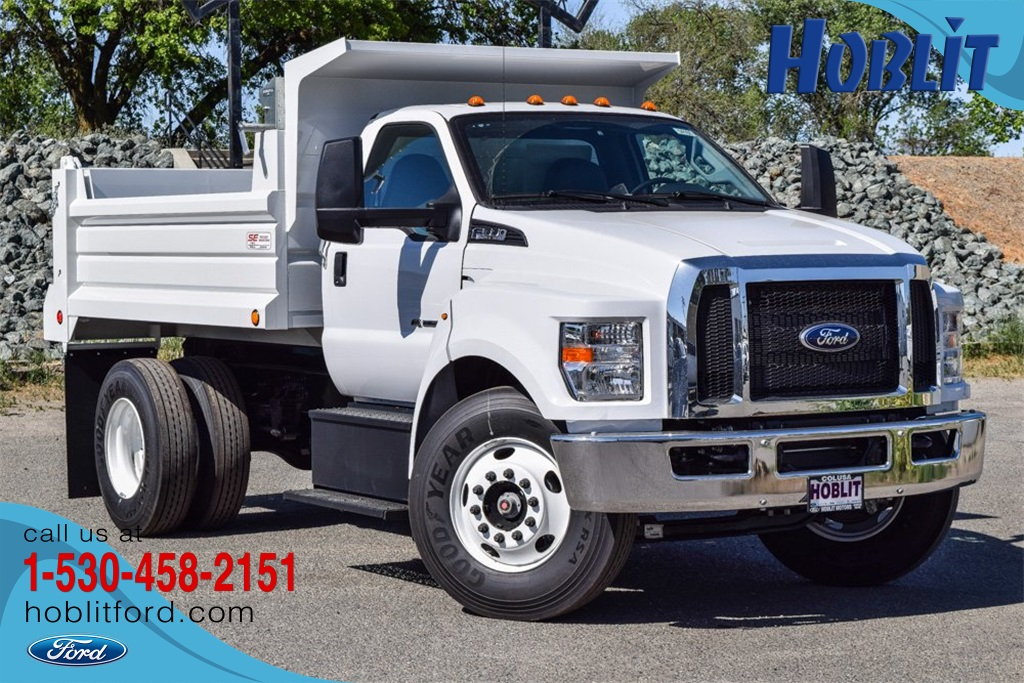 2021 Ford F-650 Regular Cab DRW 4x2, Scelzi Dump Body #F14160 - photo 1