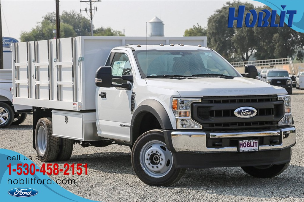 2020 Ford F-550 Regular Cab DRW 4x4, Harbor Dump Body #F14353C - photo 1