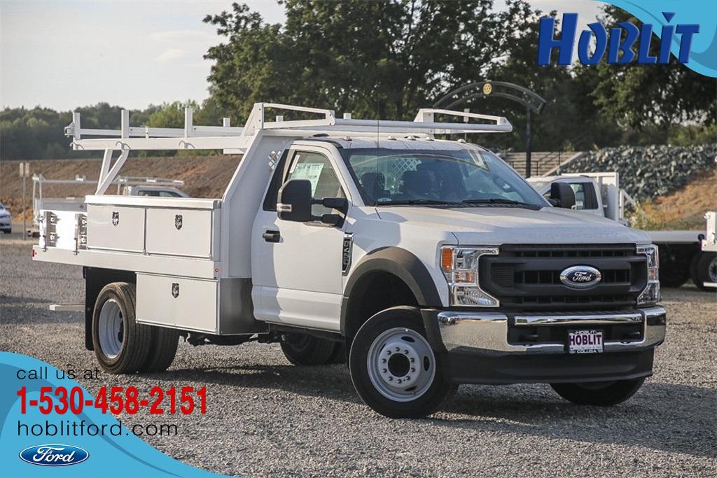 2020 Ford F-450 Regular Cab DRW 4x2, Harbor Contractor Body #F14365C - photo 1