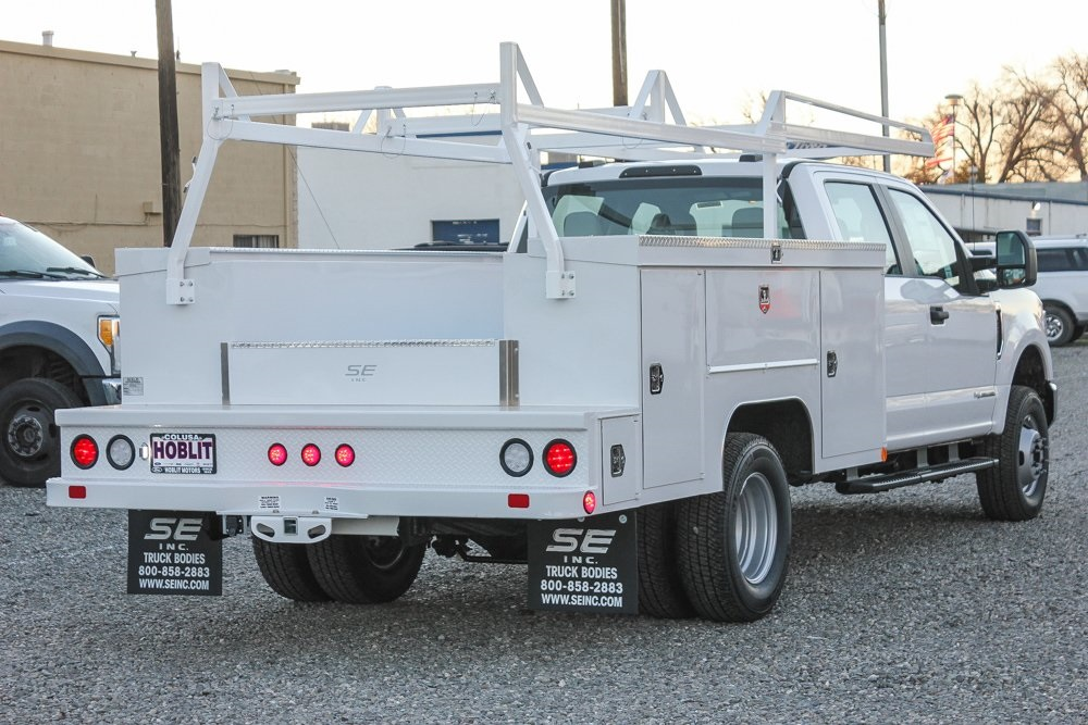 2021 Ford F-350 Crew Cab DRW 4x4, Scelzi Service Body #F14582C - photo 1