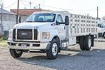 2021 Ford F-650 Regular Cab DRW 4x2, Scelzi WFB Stake Bed #F14618C - photo 4