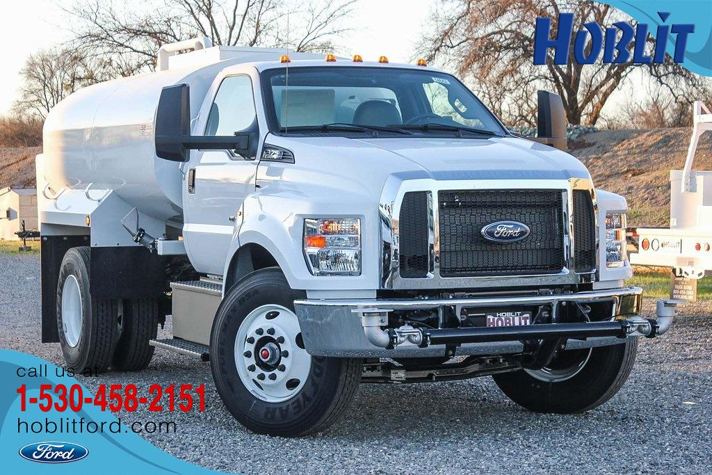 2021 Ford F-750 Regular Cab DRW 4x2, Scelzi Water Truck #F14642C - photo 1