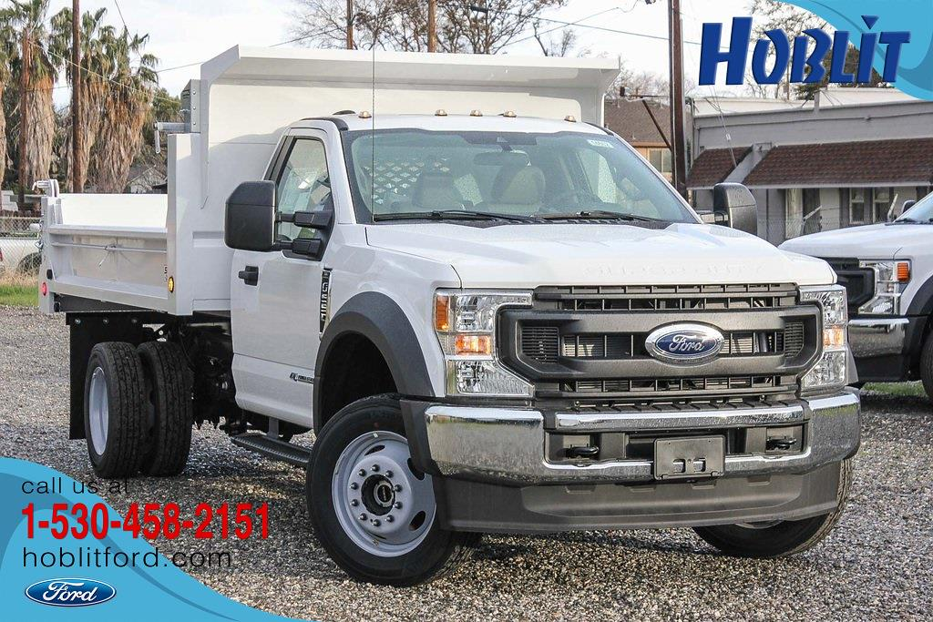 2021 Ford F-550 Regular Cab DRW 4x4, Scelzi Dump Body #F14662C - photo 1