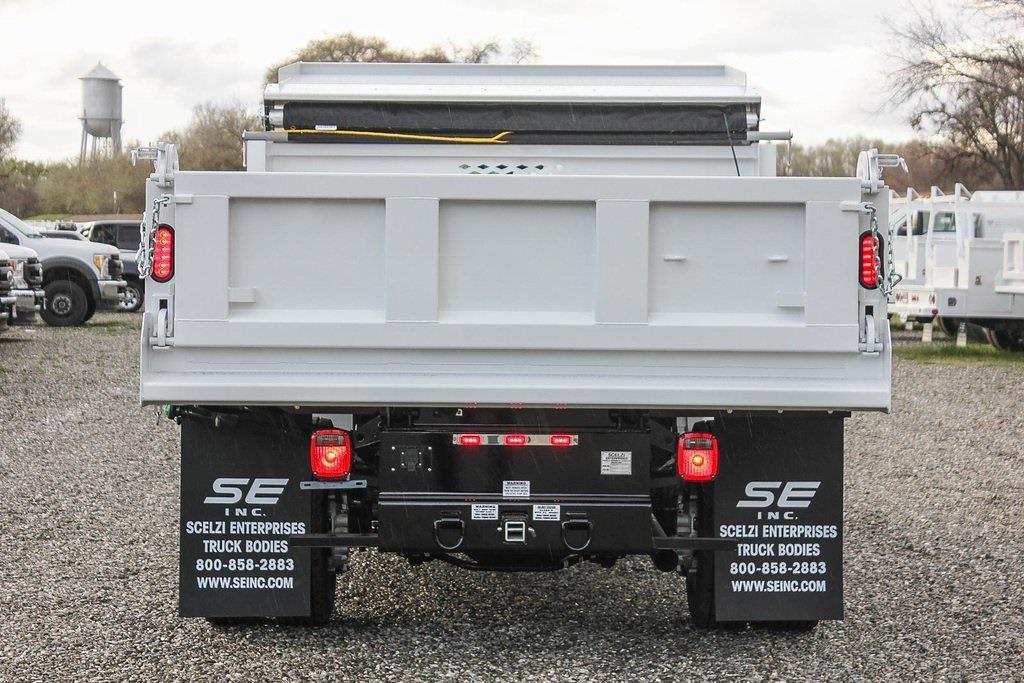 2021 Ford F-550 Regular Cab DRW 4x4, Scelzi Dump Body #F14662C - photo 6