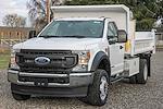 2021 Ford F-550 Regular Cab DRW 4x4, Scelzi Dump Body #F14662C - photo 4