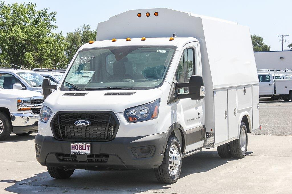 2020 Ford Transit 350 HD DRW 4x2, Royal Truck Body RSV Service Body #F14733C - photo 4
