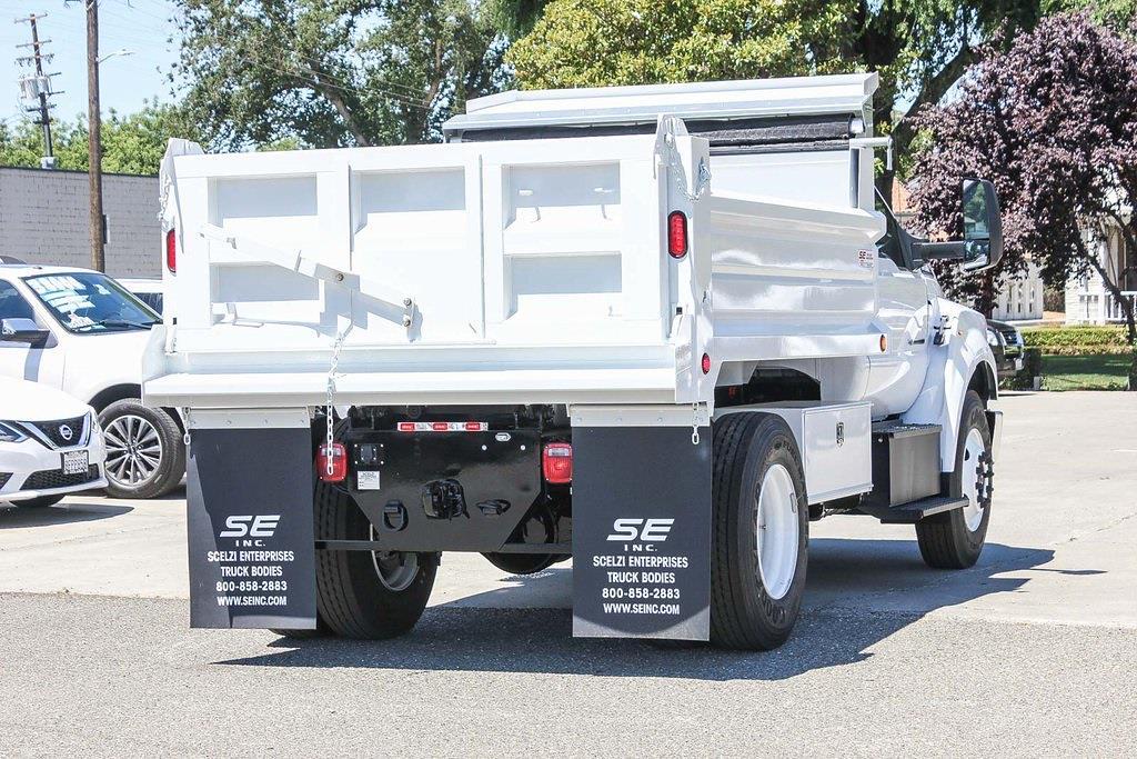 2022 Ford F-650 Regular Cab DRW 4x2, Scelzi Dump Body #F14757C - photo 1