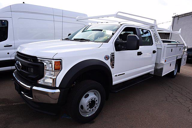 2021 Ford F-450 Crew Cab DRW 4x2, Scelzi Contractor Body #00210133 - photo 1