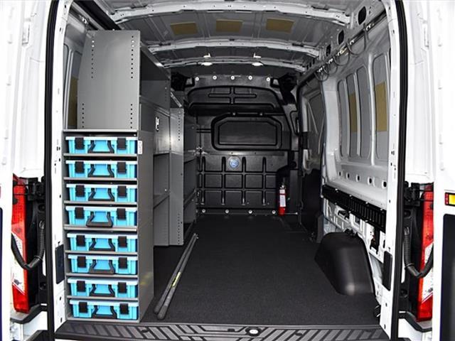 2018 Transit 250 Med Roof 4x2,  Adrian Steel Upfitted Cargo Van #00381410 - photo 1
