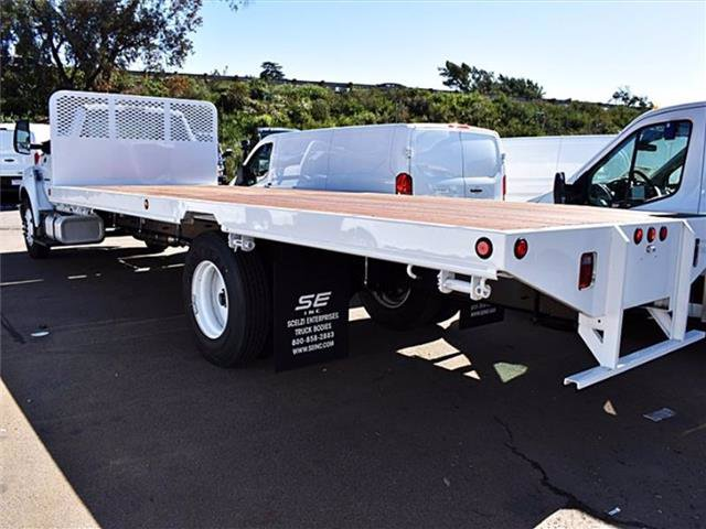 2019 Ford F-650 Regular Cab DRW 4x2, Scelzi Platform Body #00390514 - photo 1