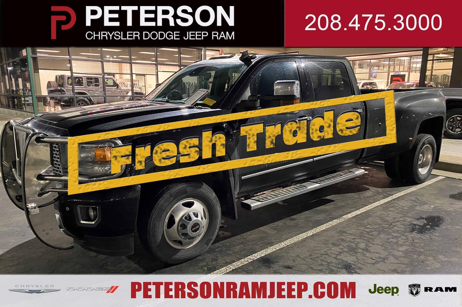 2015 GMC Sierra 3500 Crew Cab 4x4, Pickup #6200140A - photo 1