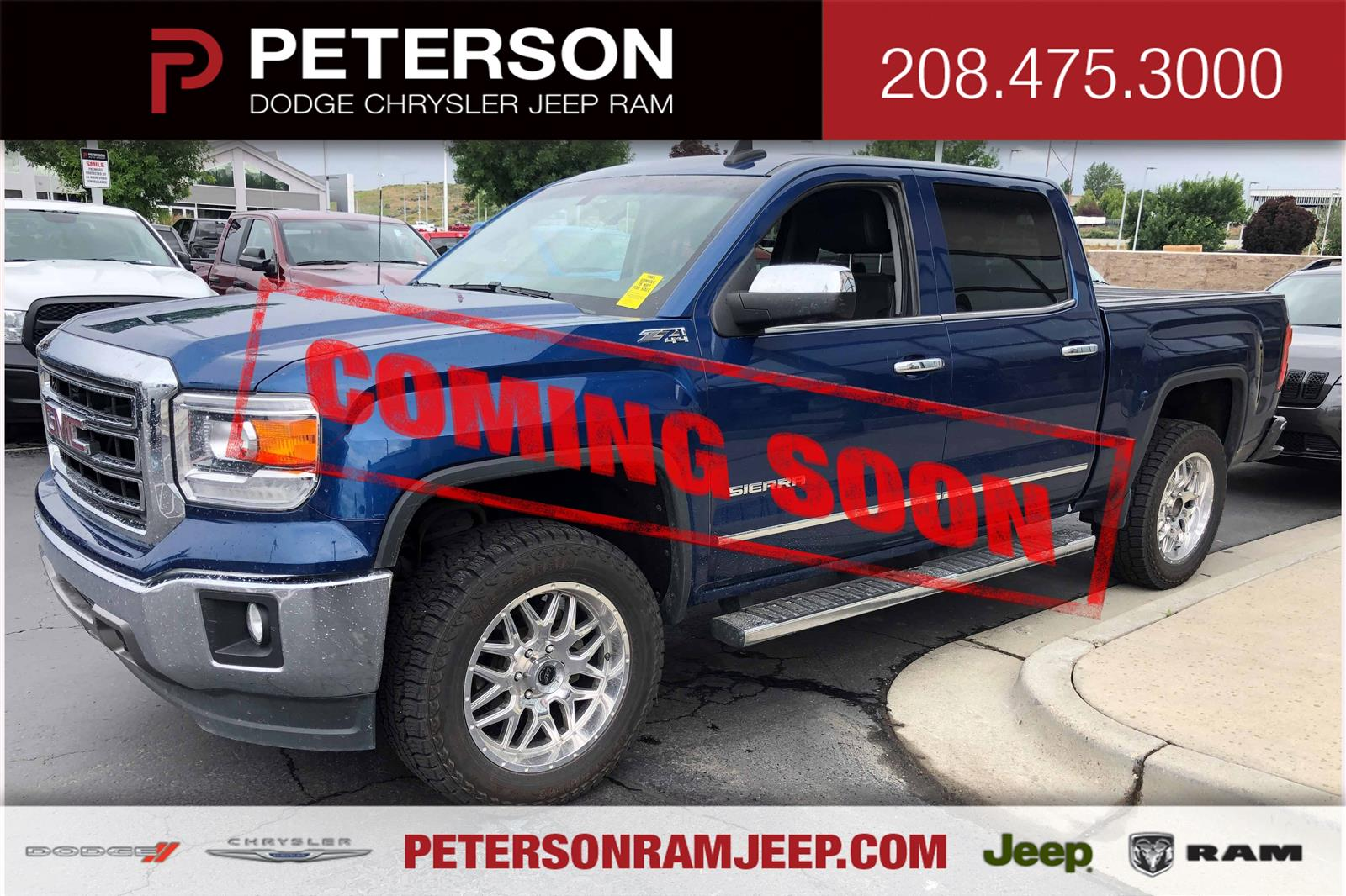 2015 GMC Sierra 1500 Crew Cab 4x4, Pickup #620213A - photo 1