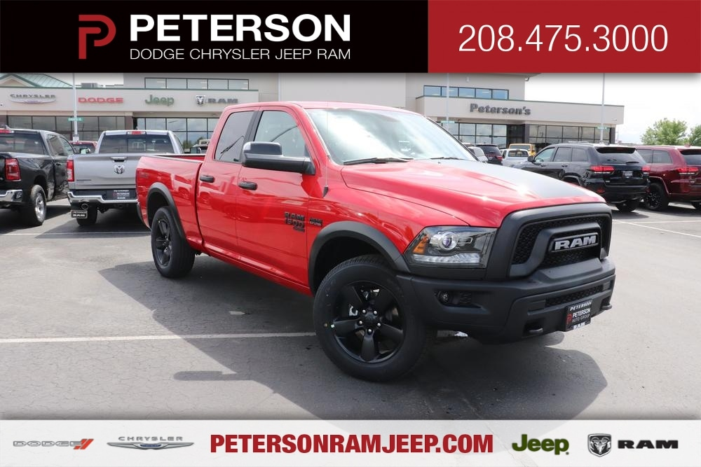 2020 Ram 1500 Quad Cab 4x4, Pickup #620315 - photo 1