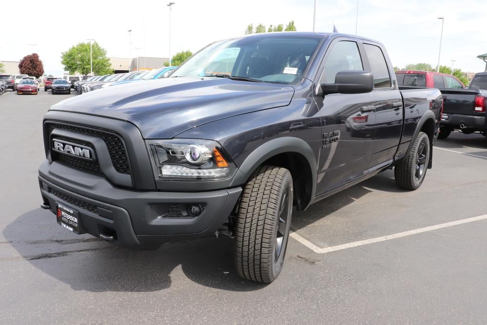 2020 Ram 1500 Quad Cab 4x4, Pickup #620394 - photo 4