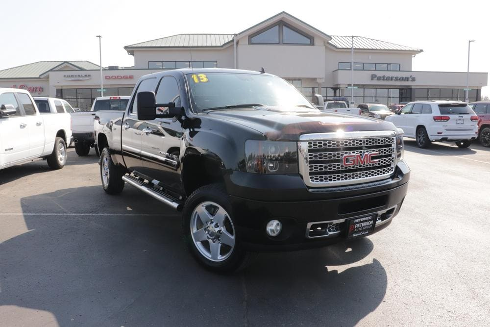 2013 GMC Sierra 2500 Crew Cab 4x4, Pickup #620514B - photo 3
