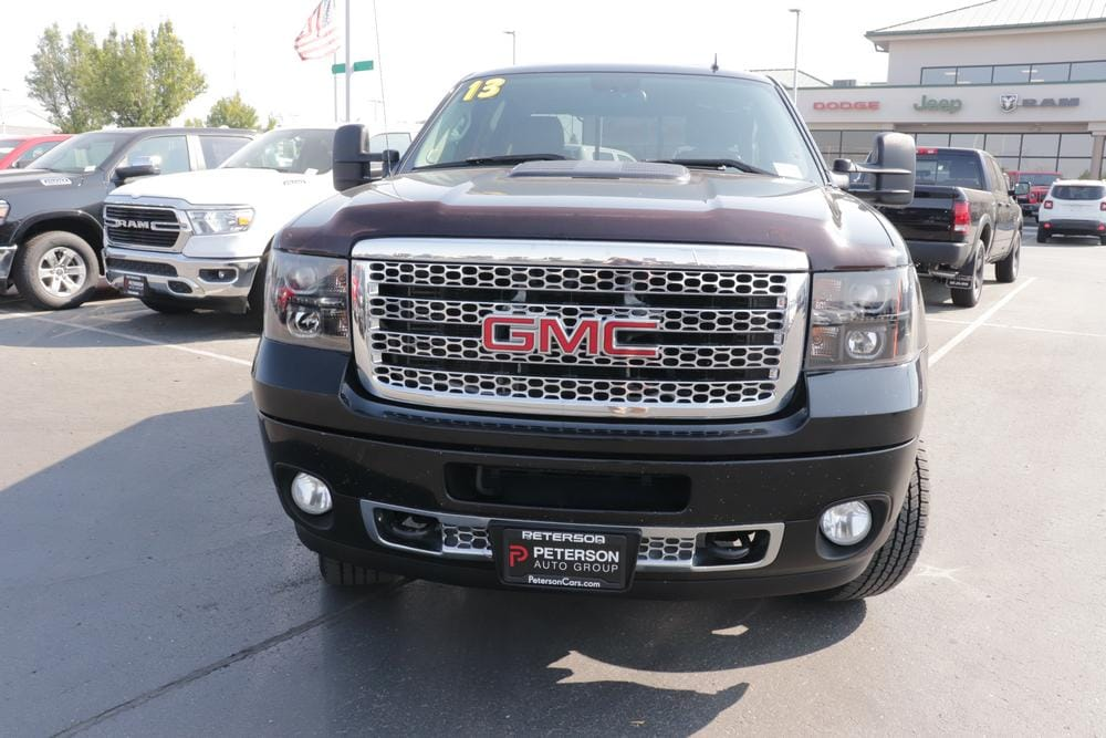 2013 GMC Sierra 2500 Crew Cab 4x4, Pickup #620514B - photo 4