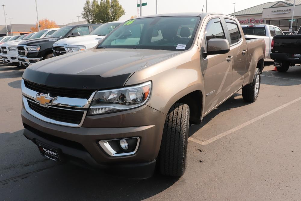 2016 Chevrolet Colorado Crew Cab 4x4, Pickup #620600A - photo 5
