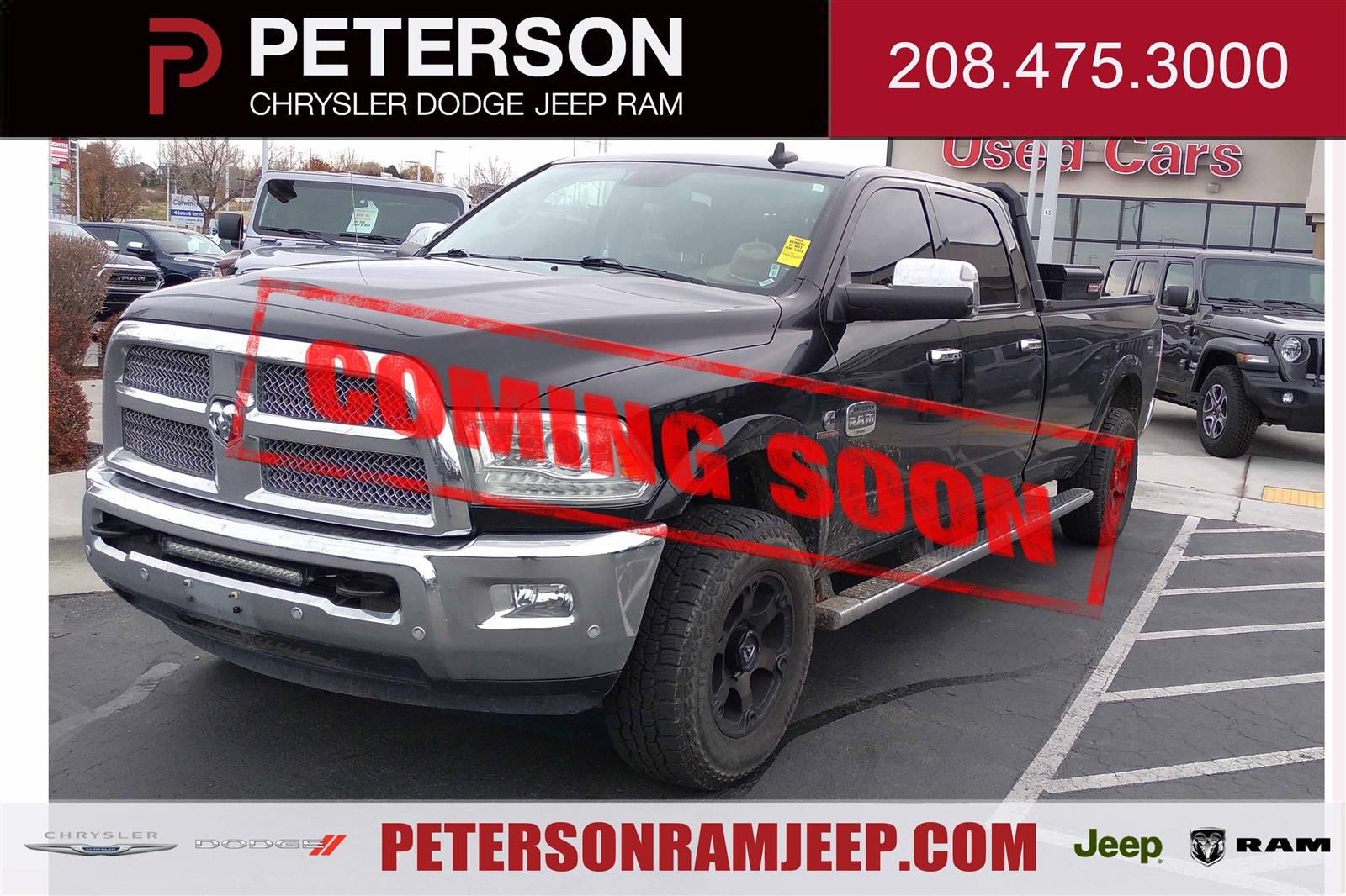 2016 Ram 3500 Crew Cab 4x4, Pickup #620713A - photo 1