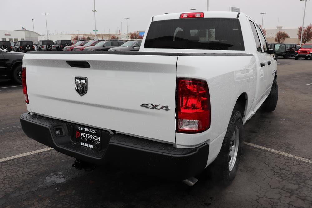 2021 Ram 1500 Quad Cab 4x4, Pickup #621127 - photo 2