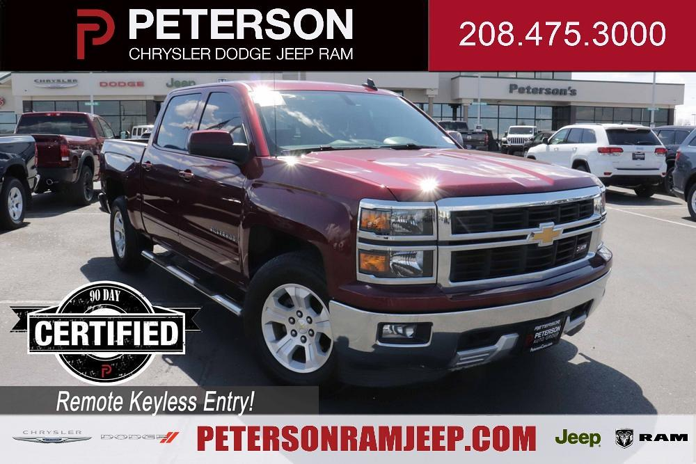 2015 Chevrolet Silverado 1500 Crew Cab 4x4, Pickup #621155A - photo 1