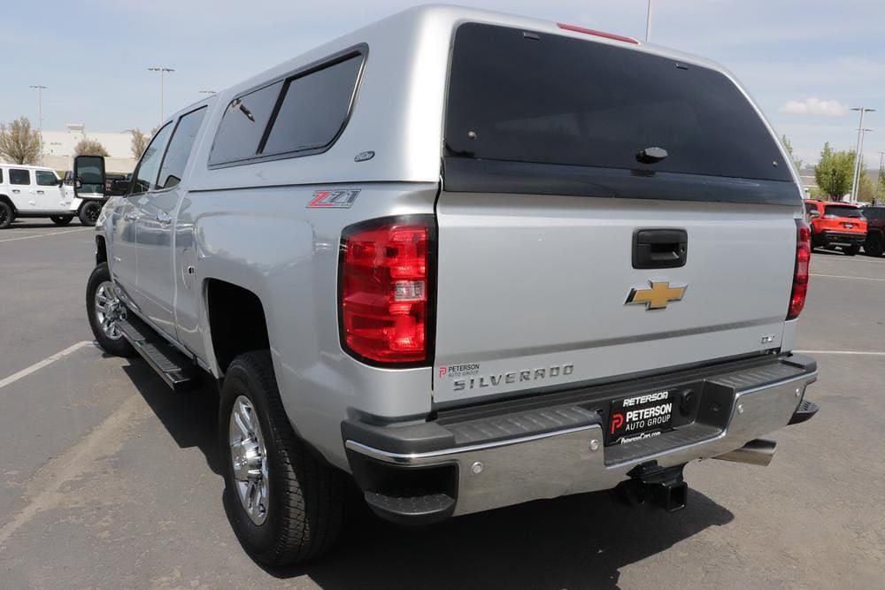 2016 Chevrolet Silverado 2500 Crew Cab 4x4, Pickup #621267K - photo 7