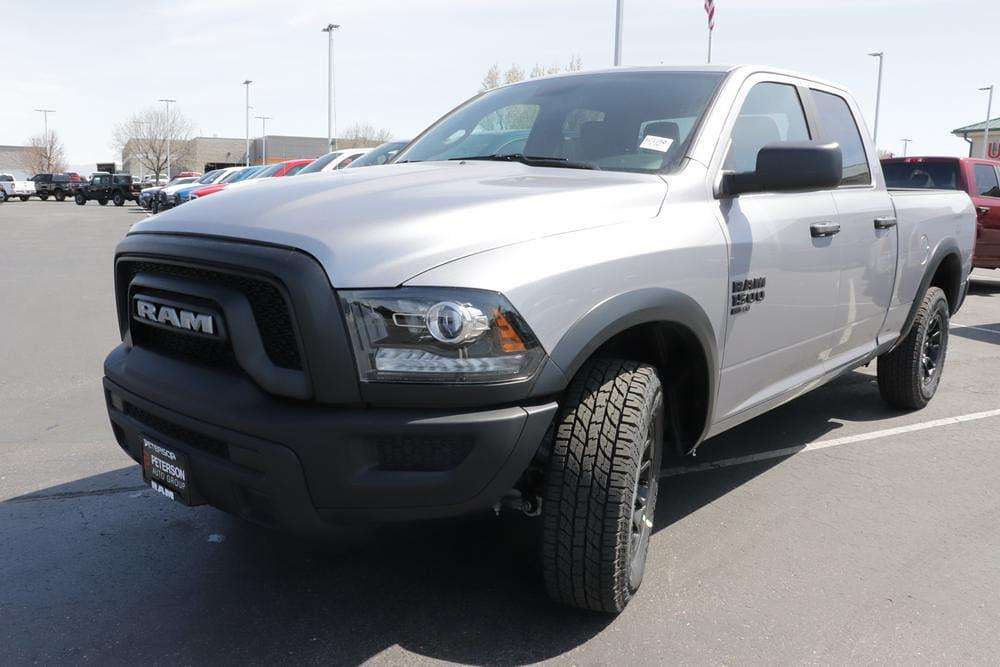 2021 Ram 1500 Quad Cab 4x4, Pickup #621350 - photo 3