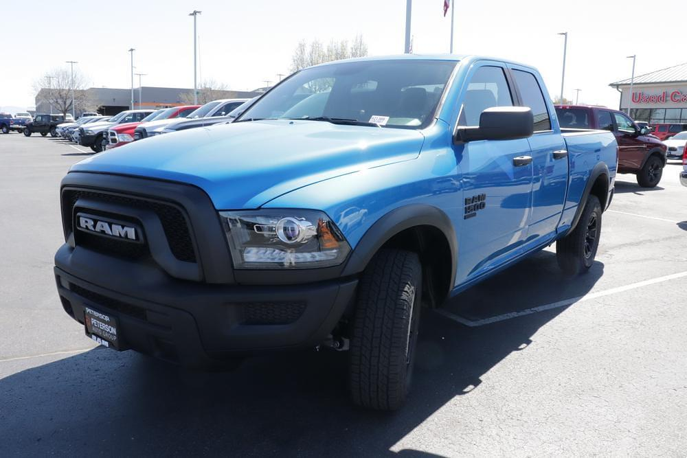 2021 Ram 1500 Quad Cab 4x4, Pickup #621366 - photo 1