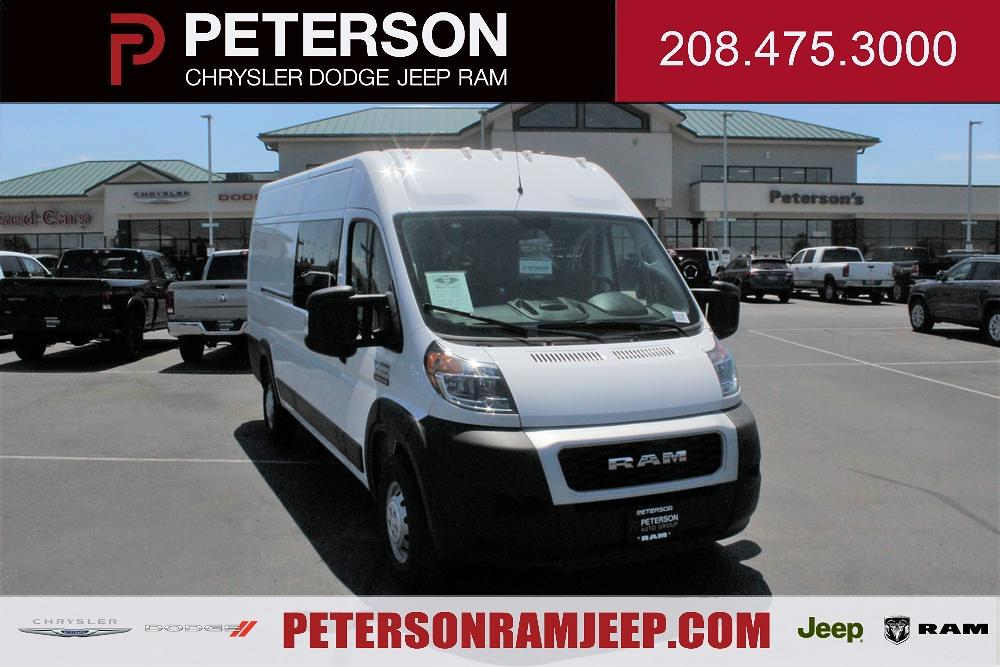 2021 Ram ProMaster 3500 Extended High Roof FWD, CrewVanCo Cabin Conversion Crew Van #621426 - photo 1