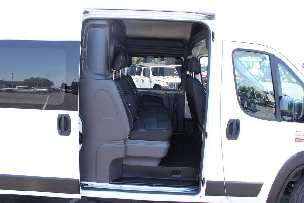 2021 Ram ProMaster 3500 Extended High Roof FWD, CrewVanCo Cabin Conversion Crew Van #621426 - photo 13