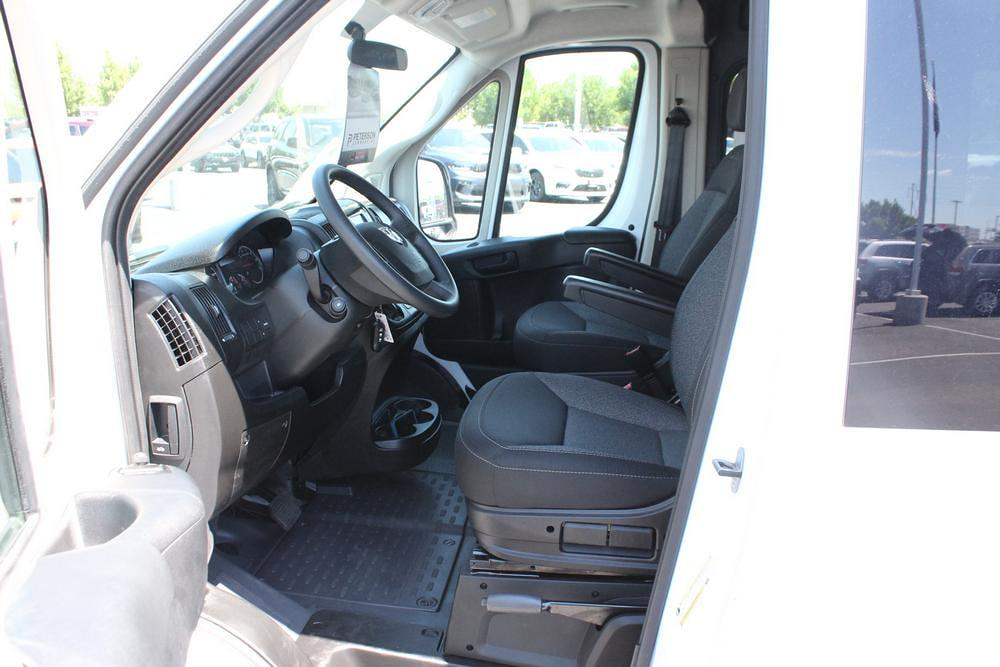 2021 Ram ProMaster 3500 Extended High Roof FWD, CrewVanCo Cabin Conversion Crew Van #621426 - photo 21