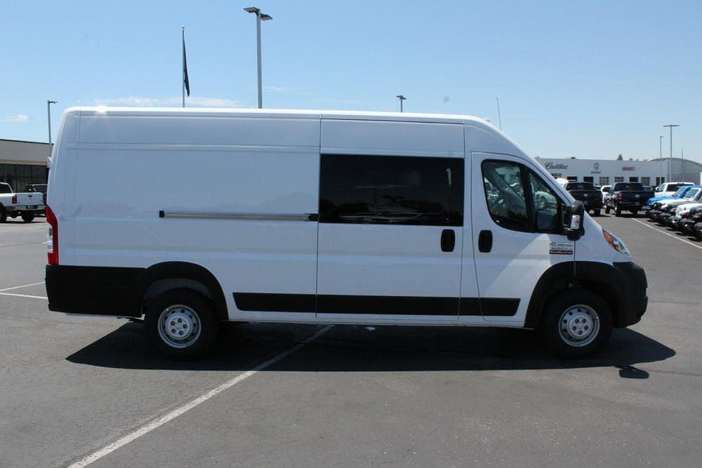 2021 Ram ProMaster 3500 Extended High Roof FWD, CrewVanCo Cabin Conversion Crew Van #621426 - photo 9