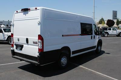 2021 Ram ProMaster 3500 Extended High Roof FWD, CrewVanCo Cabin Conversion Crew Van #621426 - photo 8