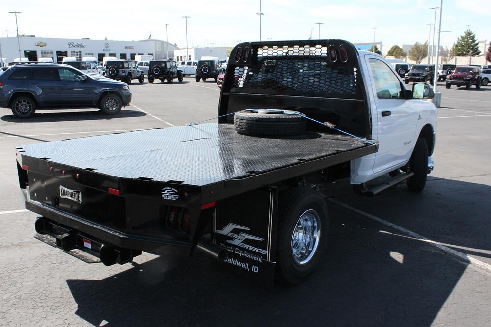 2021 Ram 3500 Regular Cab DRW 4x4, Knapheide Platform Body #621427 - photo 1